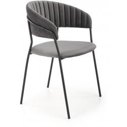 K426 krzesło popielate