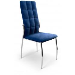 K416 krzesło granatowy velvet