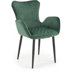 K427 krzesło ciemno zielone