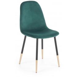 K379 krzesło ciemno zielone