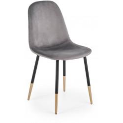 K379 krzesło popielate