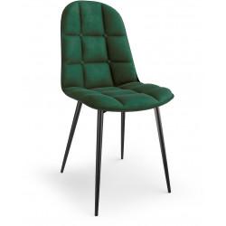 K417 krzesło ciemno zielone...