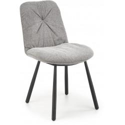 K422 krzesło popielate