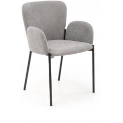K445 krzesło popielaty