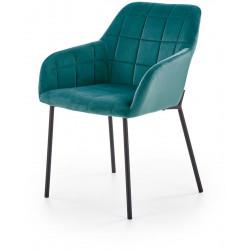 Krzesło K305 ciemnozielone