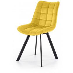 K332 krzesło musztardowe