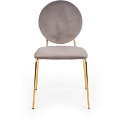 K363 krzesło popielaty