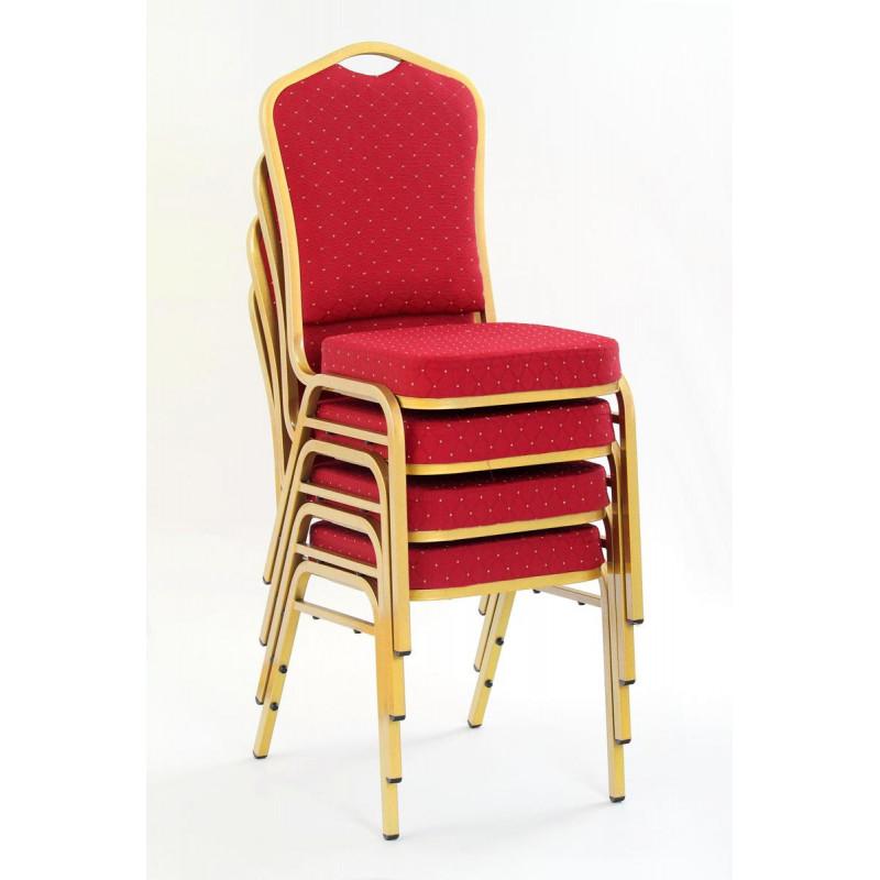 K66 krzesło bordowe