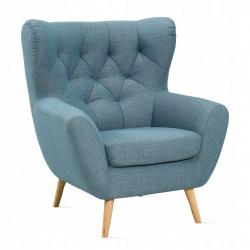 Fotel Voss niebieski