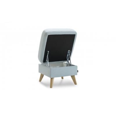 Pufa / Taboret w stylu Skandynawskim 56x56 cm NAPPA Gala Collezione
