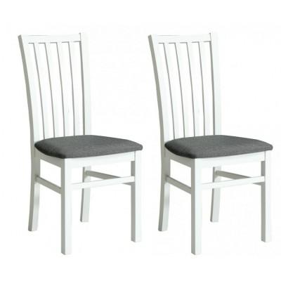 Krzesło Snow 2szt białe nogi Forte