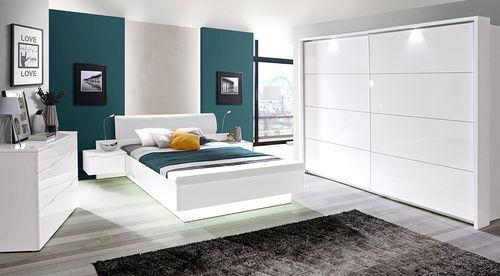 Starlet White Meble do sypialni i zestawy sypialniane