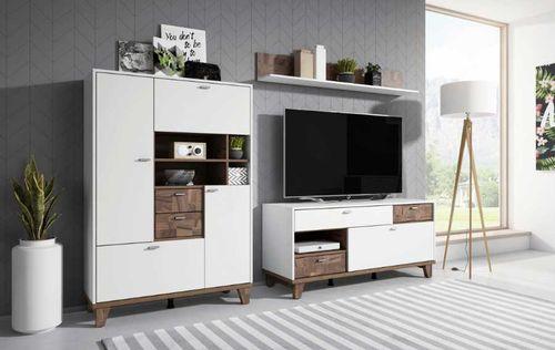 Move (biały supermatt / palazzo) Meble do salonu i pokoju dziennego