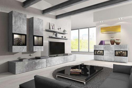 Baros (jasny beton) Meble do salonu i pokoju dziennego